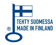 Avainlippu logo - Tehty Suomessa - Suomessa valmistettu