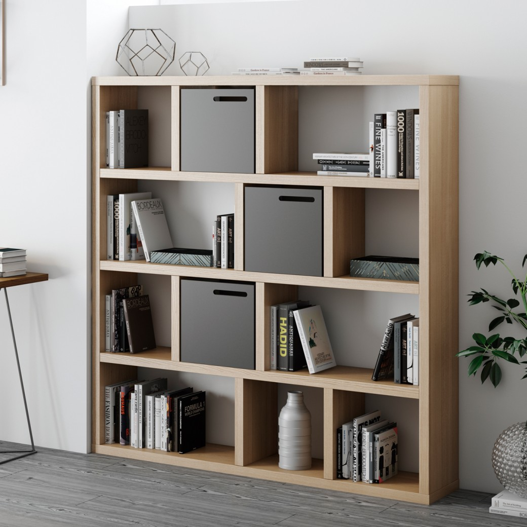 temahome berlin kirjahylly 4 tasoa 150 k159 l150 s34. Black Bedroom Furniture Sets. Home Design Ideas
