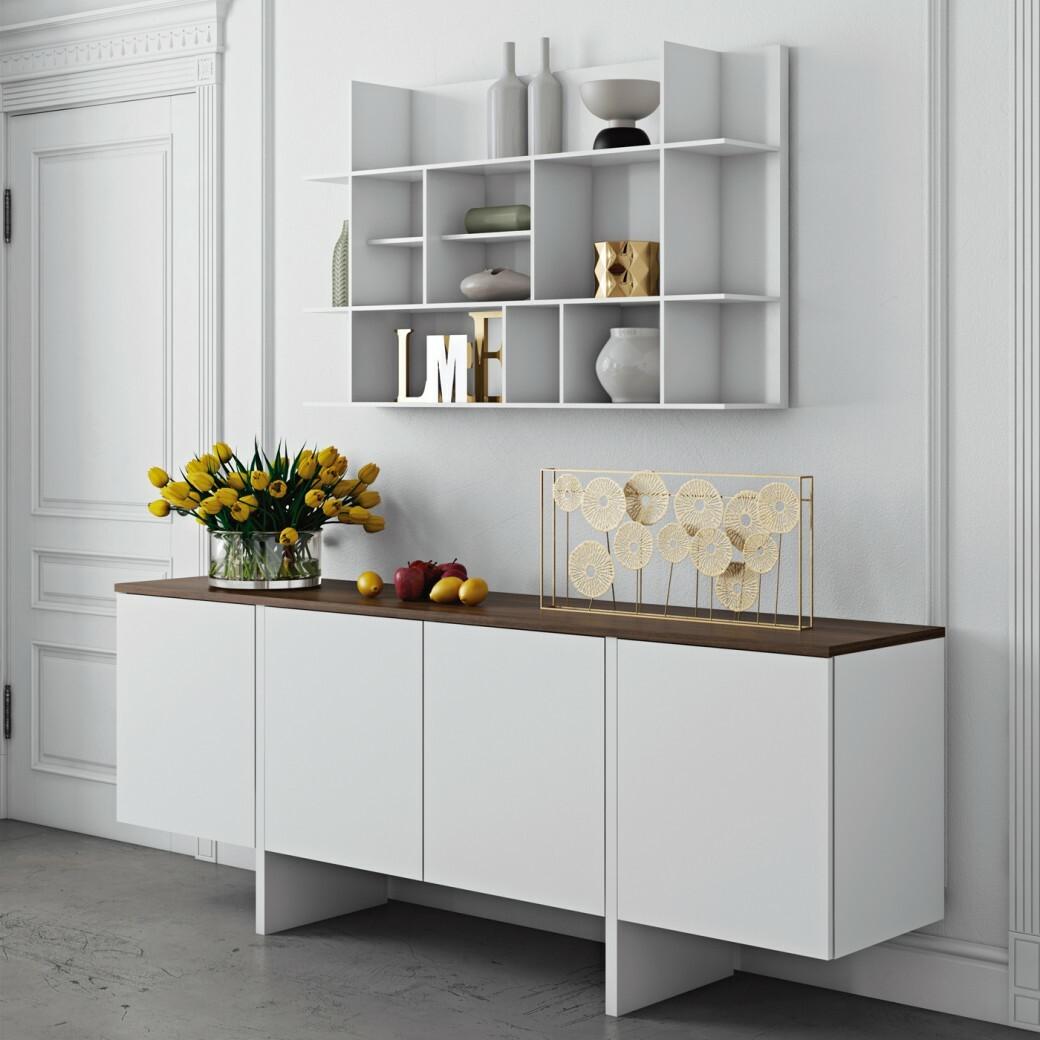 temahome panorama kirjahylly small k75 l120 s23 kaluste10. Black Bedroom Furniture Sets. Home Design Ideas