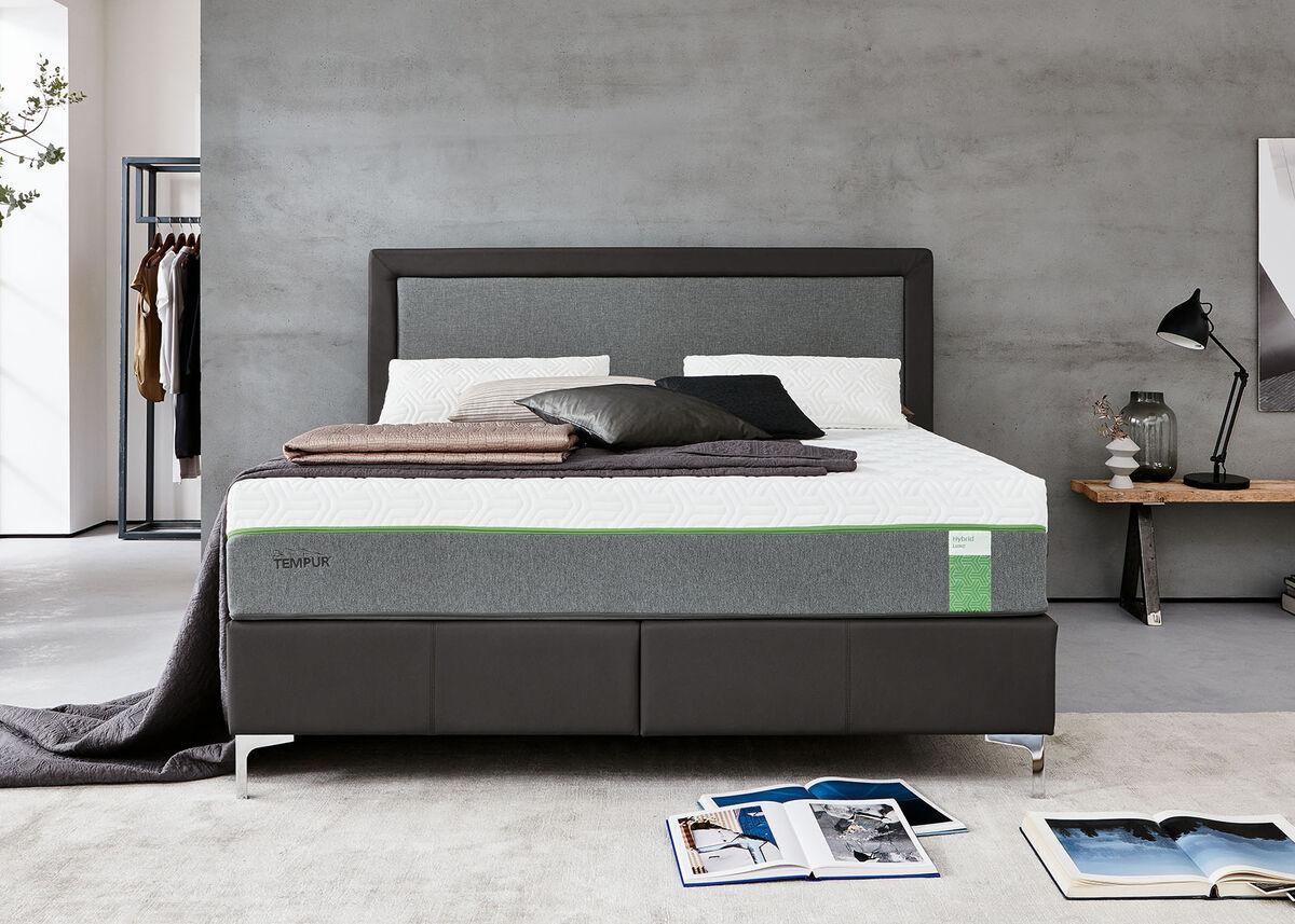 tempur box spring static 160x200 jenkkivuode 25 patja kaluste10. Black Bedroom Furniture Sets. Home Design Ideas