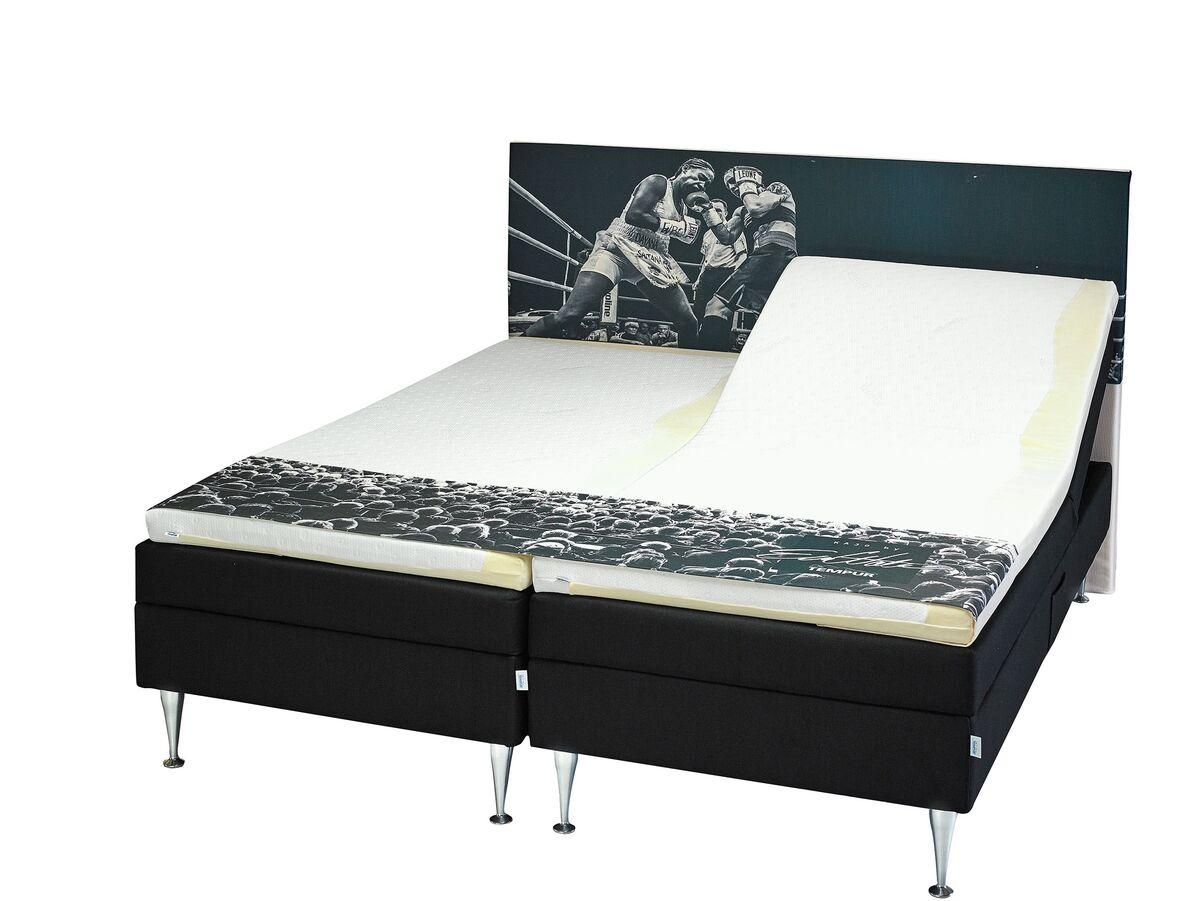 tempur kajo moottorivuode 180x200 7 cm petauspatjalla. Black Bedroom Furniture Sets. Home Design Ideas