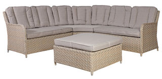 Pacific kulmasohvakalusto, beige, Garden4you