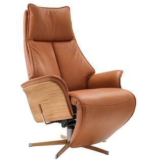 Tv tuoli reclinerilla, semianiliini 50008000 nahkaa, Jade Lux