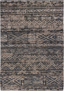 Matto Antiquarian Kilim 9113 Black Rabat, Louis De Poortere
