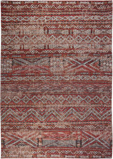 Matto Antiquarian Kilim 9115 Fez Red, Louis De Poortere