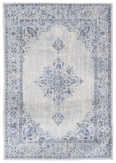 Matto Khayma Fairfield 8670 Blue Border, Louis De Poortere