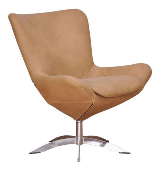 Tyylikäs ja upea Donna nojatuoli uniikilla muotoilulla.